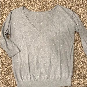 Banana Republic Polk a Dot sweater